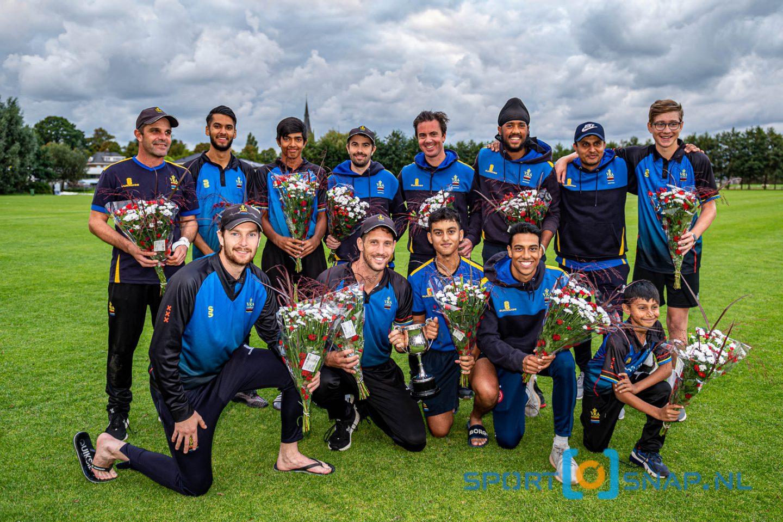 05-09-2020: Cricket T20: Sparta v VRA: Den Haag Cricket T20 Topklasse heren 2020 Finale T20, VRA wint de T20