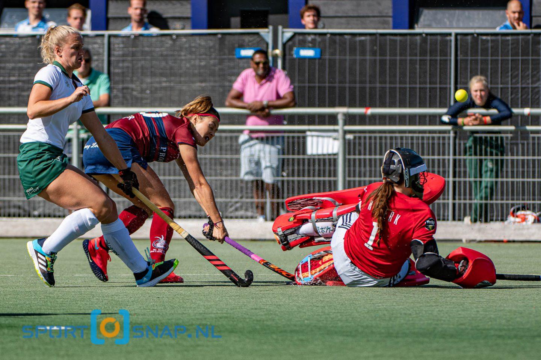 20-09-2020: Hockey: Dames Klein Zwitserland v Rotterdam: Den Haag Hockey Promotieklasse Dames 2020 (L-R)