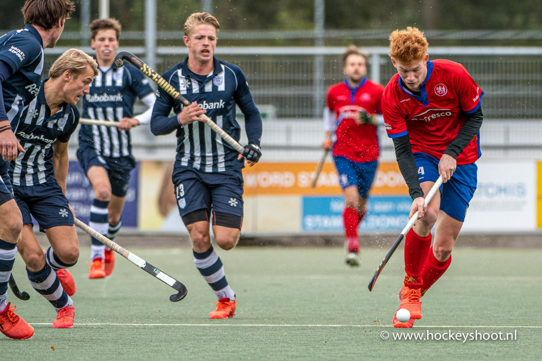 Hockey - HDM v Voordaan, Den Haag - 11-10-2020