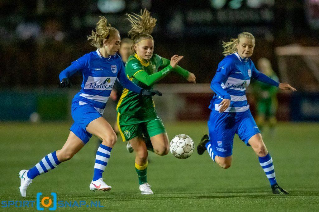 PEC Zwolle - ADO Den Haag vrouwen
