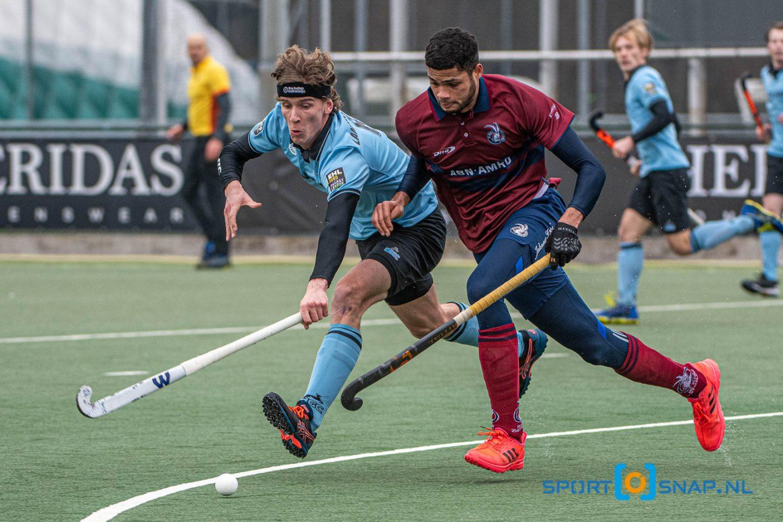 Hockey - HGC H1 v Klein Zwitserland H1, Den Haag - 06-02-2021