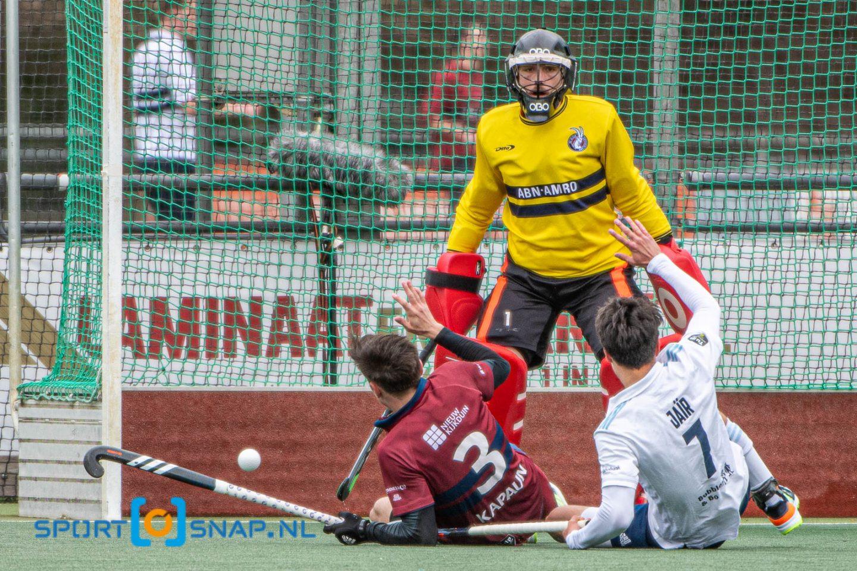 28-03-2021: Hockey: Klein Zwitserland H1 v Tilburg H1
