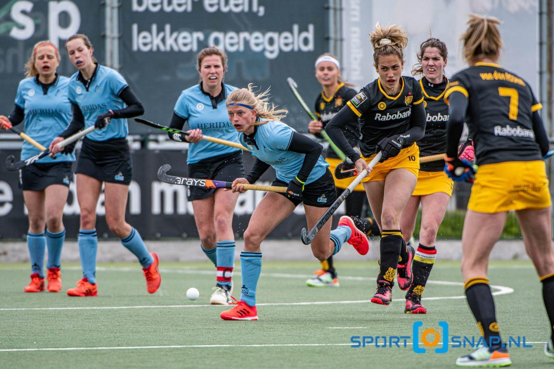 25-04-2021: Hockey: HGC D1 - Den Bosch D1: Den Haag Hockey Hoofdklasse dames 2021