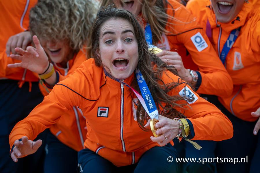 Eva de Goede Hockey Team NL